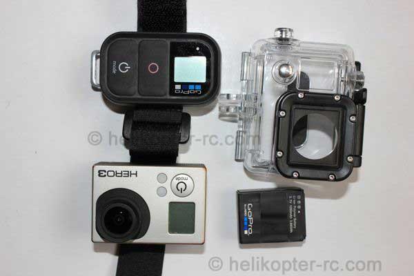 Gopro Ausrüstung, Wi Fi Remote, Gehäuse, Akku,