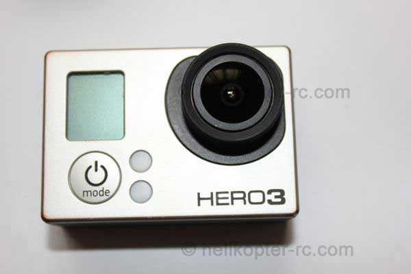 Gopro Hero 3 Black Edition Vorderseite