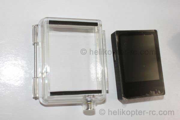 LCD Bacpac Monitor mit Deckel