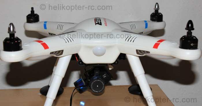 Statusleuchte / Kontrollleuchte des Quadcopter V303