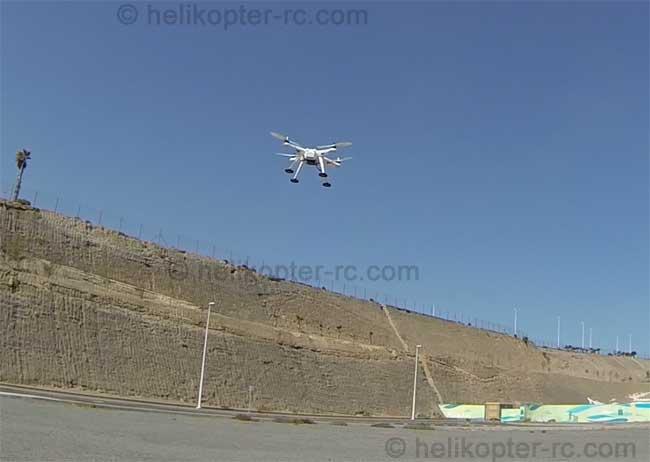 Quadcopterv303flug